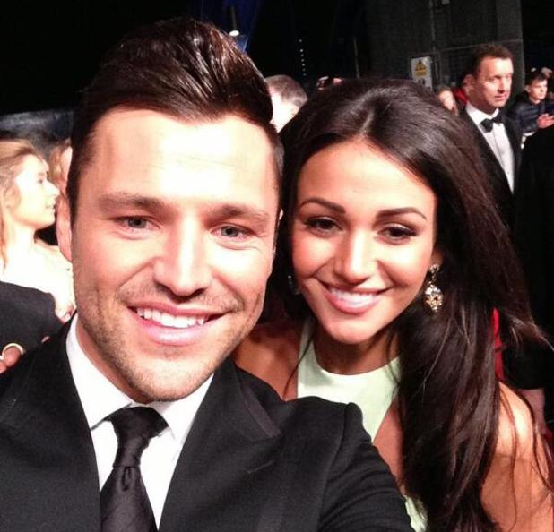 Mark Wright and Michelle Keegan NTAs 2014, selfies, twitter