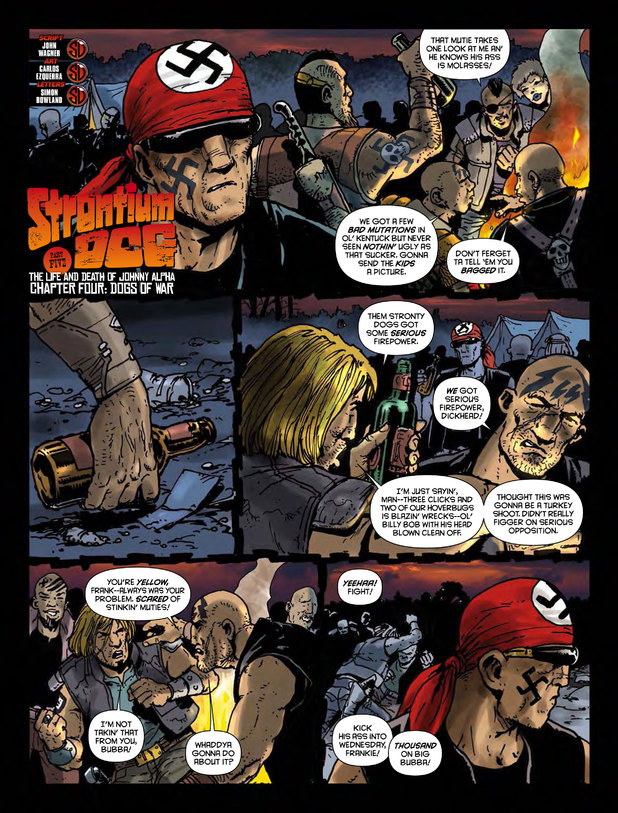 Strontium Dog 'The Life and Death of Johnny Alpha'