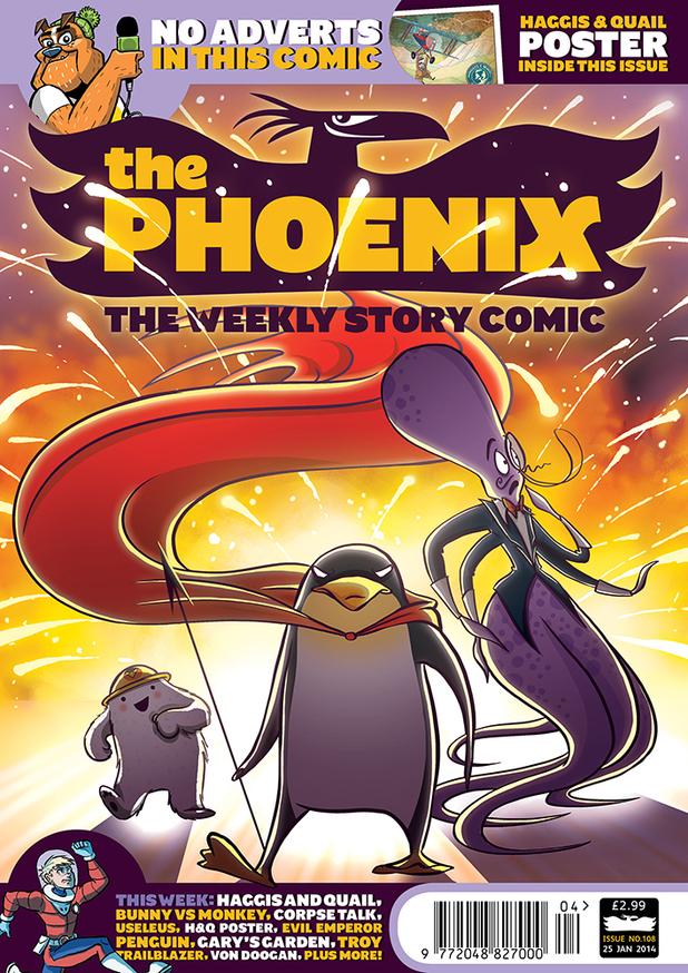 The Phoenix #108 cover