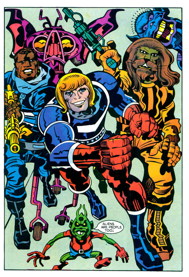 Jack Kirby's Captain Victory