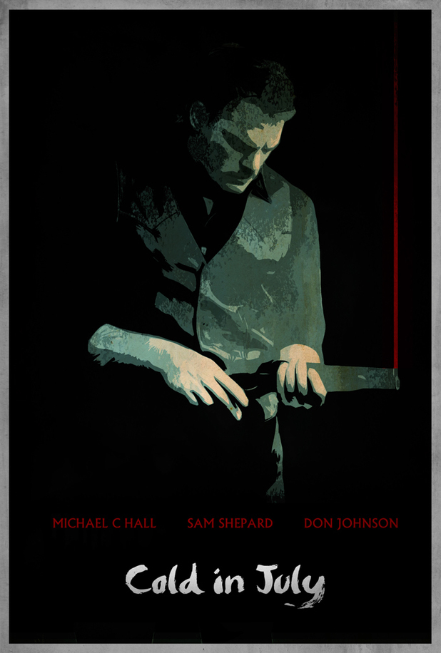 Cold In July noir poster