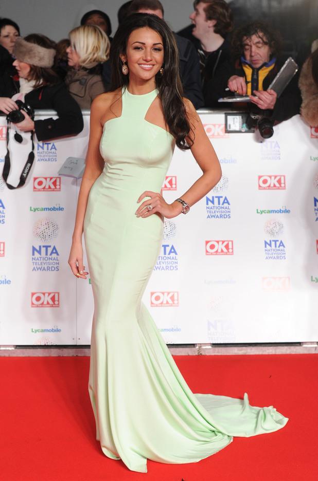 National Television Awards, The O2, London, Britain - 22 Jan 2014 Michelle Keegan