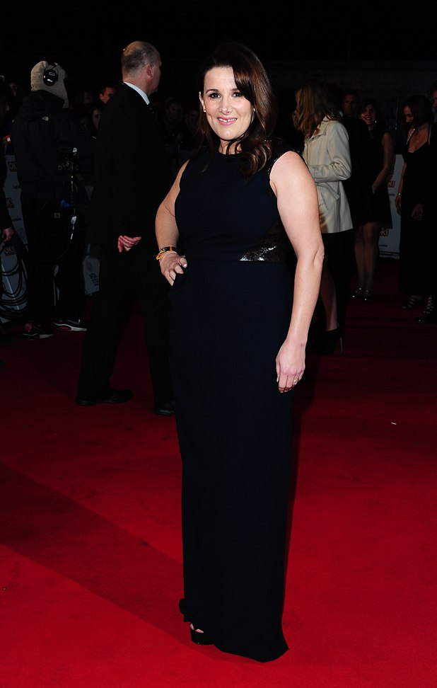 Sam Bailey arriving for the 2014 National Television Awards at the O2 Arena, London