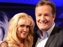 Liz McDonald actress appears on Piers Morgan's Life Stories.