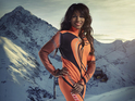 Sinitta and Sir Steve Redgrave tell DS about being scared of the big ski jump.
