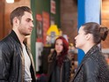 Charlie Clapham says Freddie is prepared to leave the village with Lindsey.