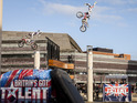 The judges are left open-mouthed watching death-defying bike stunts.