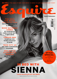 Sienna Miller on the March cover of Esquire