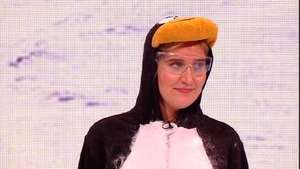 Made in Chelsea Cheska splattered with penguin 'vomit'