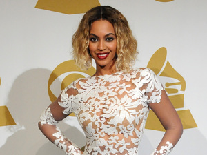 LOS ANGELES, CA - JANUARY 26: Singer Beyonce poses in the press room during th 56th GRAMMY Awards at Staples Center on January 26, 2014 in Los Angeles, California. (Photo by Steve Granitz/WireImage)