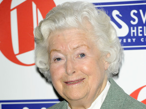 June Spencer 'Oldie of the Year Awards 2011' at Simpsons in the Strand London, England - 10.02.11
