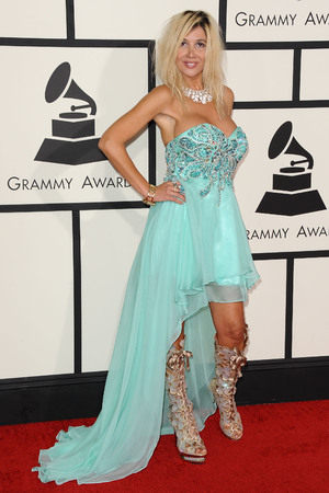 56th Annual Grammy Awards, Arrivals, Los Angeles, America - 26 Jan 2014 Nadeea 26 Jan 2014