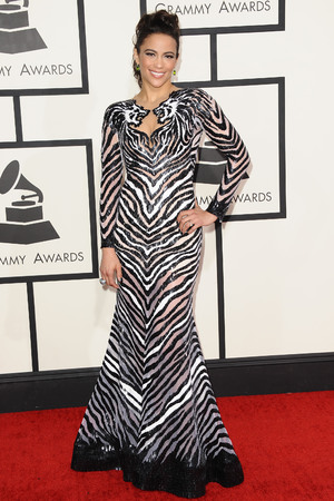 56th Annual Grammy Awards, Arrivals, Los Angeles, America - 26 Jan 2014 Paula Patton 26 Jan 2014