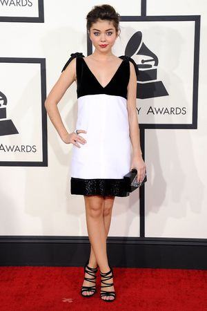 Sarah Hyland 56th Annual Grammy Awards, Arrivals, Los Angeles, America - 26 Jan 2014