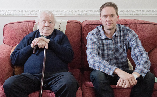 Dudley Sutton and James Redmond