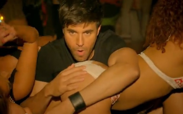Enrique Iglesias, Pitbull 'I'm a Freak' video