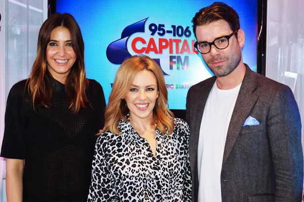 Kylie Minogue, Dave Berry, Lisa Snowdon