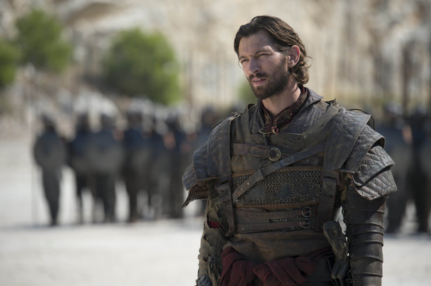 Game of Thrones season 4: first look -   Michiel Huisman as Daario Naharis