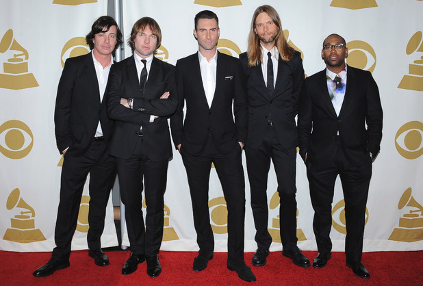 'The Night That Changed America: A Grammy Salute to the Beatles', Los Angeles, America - 27 Jan 2014 Maroon 5 - Adam Levine