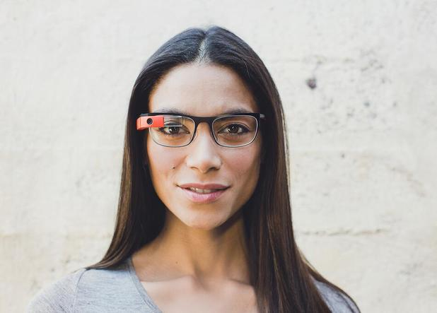 Google Glass Titanium Collection frames