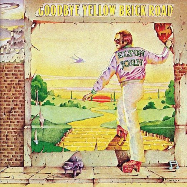 Elton John 'Goodbye Yellow Brick Road' reissue.