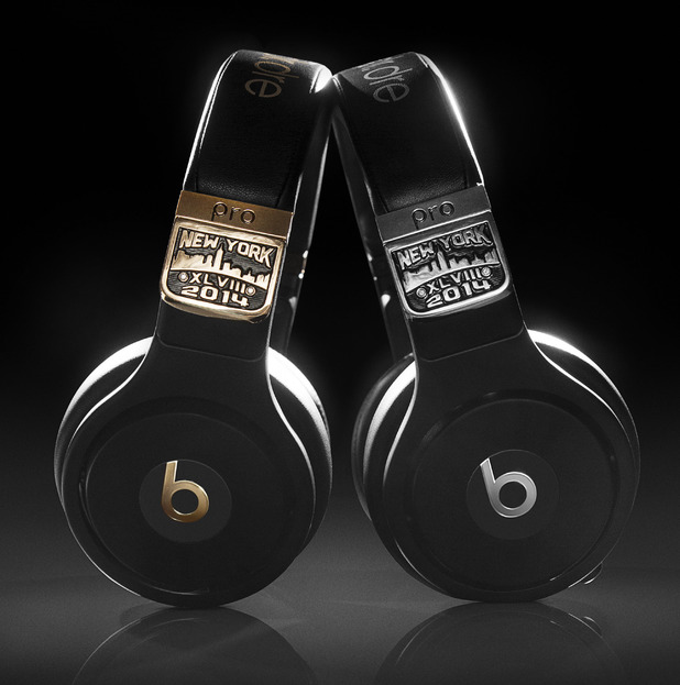 Super Bowl Beats Pro headphones