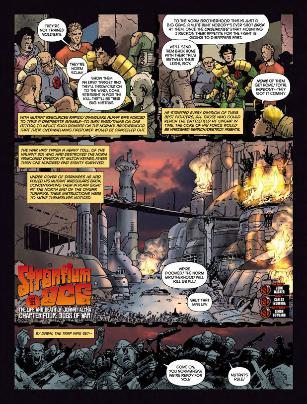 Strontium Dog 'Dogs of War'