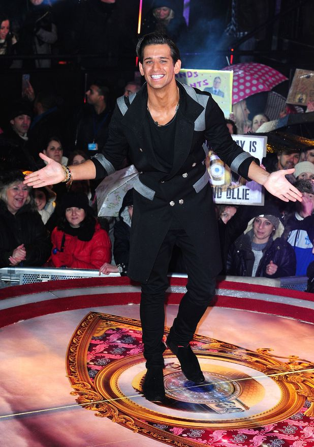 Ollie Locke is evicted from the Celebrity Big Brother House at Elstree Studios