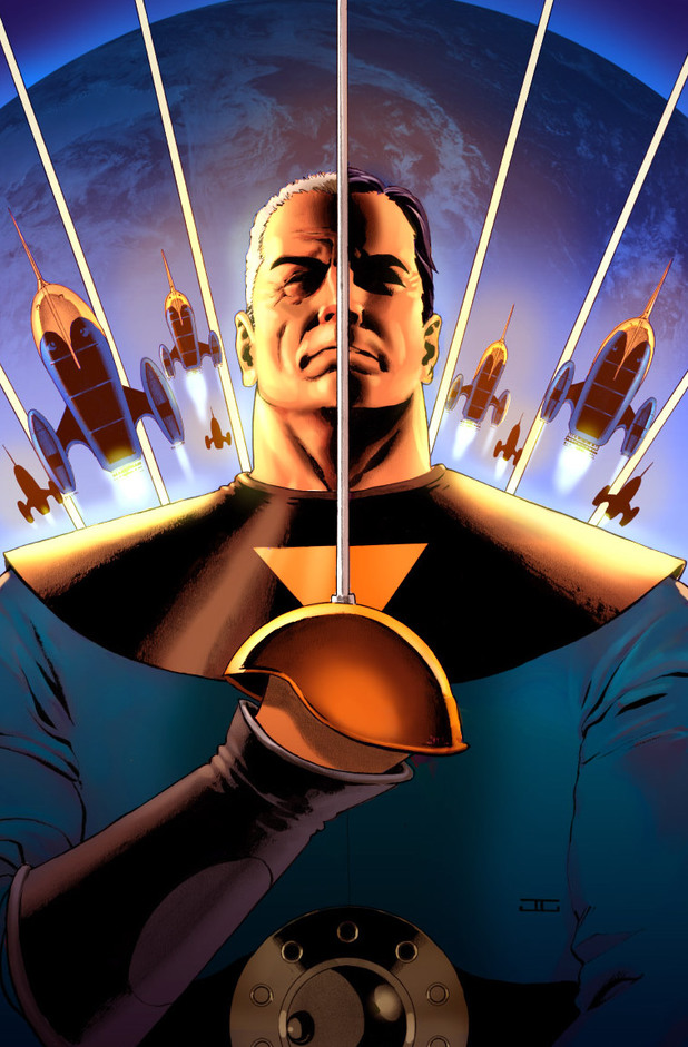John Cassaday's Starlight #1 cover