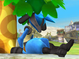Super Smash Bros Wii U: Lucario screenshot