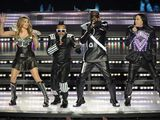 The Black Eyed Peas perform during the Super Bowl XLV American Football halftime show, 2011