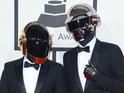 Daft Punk play a medley with pop icons Stevie Wonder and Nile Rodgers at gala.