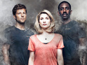 Jamie Bamber and Jodie Whittaker talk the show's real fires, emotion and more.