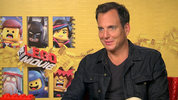 Will Arnett and Morgan Freeman on The Lego Movie's Batman