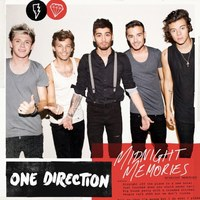 One Direction 'Midnight Memories' single artwork.
