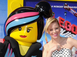 "Actress Elizabeth Banks seen at the premiere of the feature film ""The Lego Movie"""
