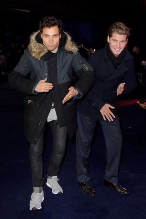 'Robocop' World Film Premiere, London, Britain - 05 Feb 2014 Stevie Johnson and Andy Jordan 5 Feb 2014