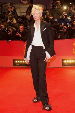 'The Grand Budapest Hotel' film premiere at the 64th Berlinale International Film Festival, Berlin, Germany - 06 Feb 2014 Tilda Swinton 6 Feb 2014