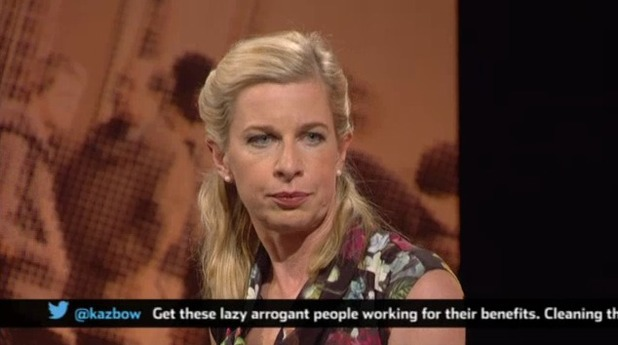 Channel 5's Big Benefits Row debate: Katie Hopkins