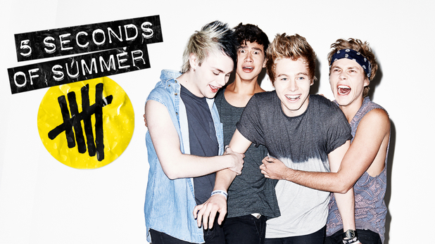 5 Seconds Of Summer 'She Looks So Perfect' single artwork.