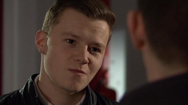 Robbie agrees to go along with Finn's plan