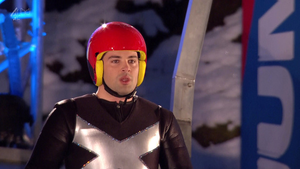 Joe McElderry on The Jump