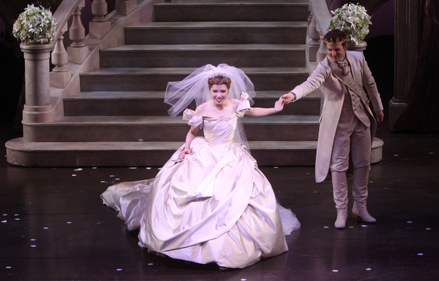Carly Rae Jepsen in Cinderella at the Broadway Theatre.