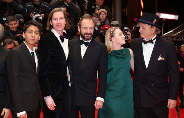 'The Grand Budapest Hotel' film premiere at the 64th Berlinale International Film Festival, Berlin, Germany - 06 Feb 2014 Tony Revolori, Wes Anderson, Ralph Fiennes, Saoirse Ronan and Bill Murray6 Feb 2014
