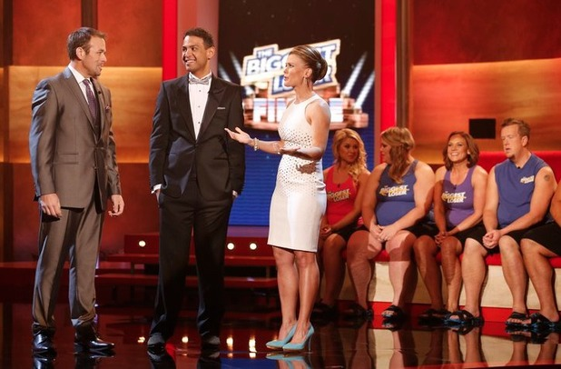David Brown, Bobby Saleem and Alison Sweeney on The Biggest Loser S15E15: 'Live Finale'