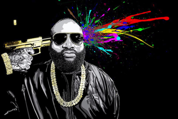 Rick Ross deluxe album cover