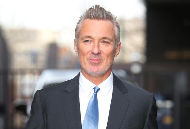 Martin Kemp outside ITV Daybreak Studios