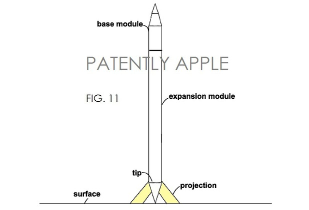 Patent filing for the so-called iPen stylus
