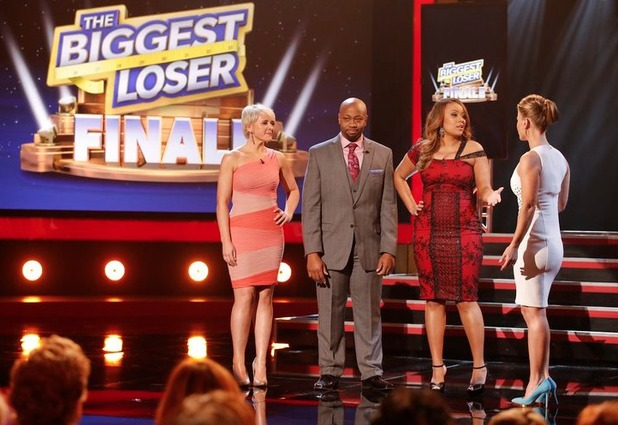 Marie Pearl, Craig Arrington, Tanya Winfield and Alison Sweeney on The Biggest Loser S15E15: 'Live Finale'