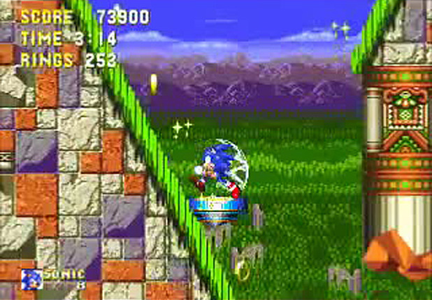 Sonic the Hedgehog 3 Screenshot